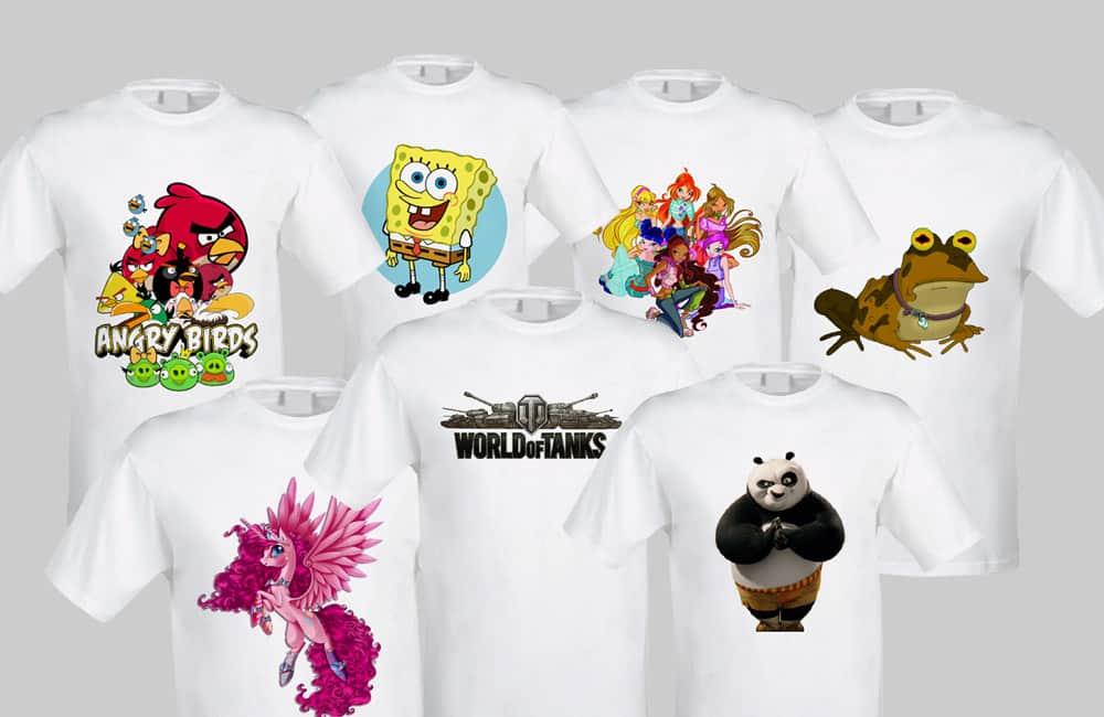 Картинки сублимация на футболки